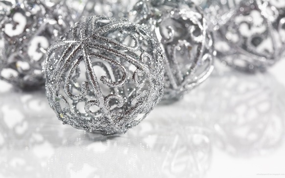 Silver Christmas Ornaments