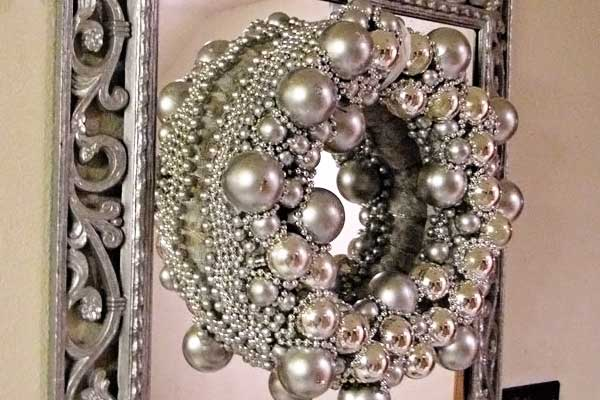 West Elm beautiful decor of pearls and bling