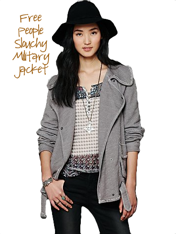 Free People Slouchy Jacket