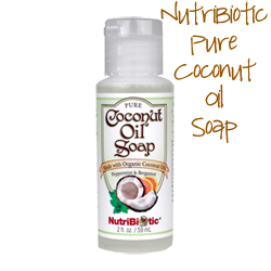 Nutribiotic Coconut Oil Soap